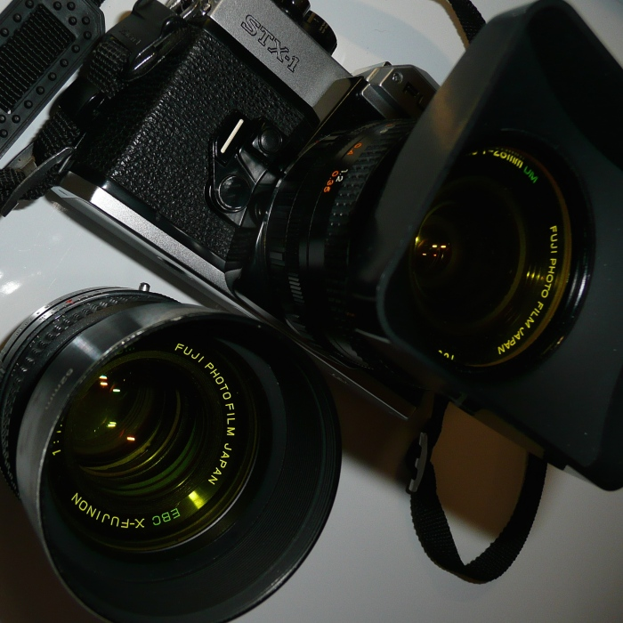 Fuji STX - 28 and 50mm Fujinon Lens's