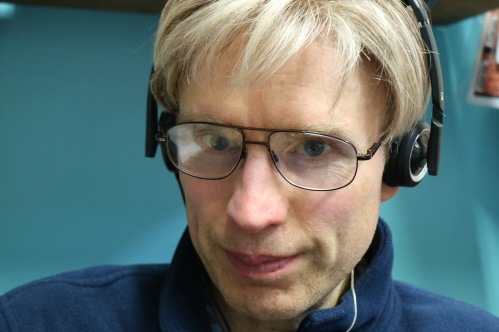 Jon Listens to the Recording